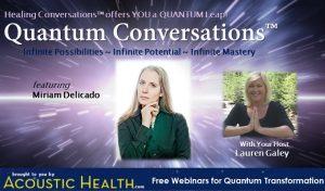 Please join Miriam Delicado in a Live Quantum Conversation