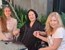 Miriam Delicado, Princess Kaoru Nakamaru & Kerry Cassidy (Los Angeles 2015) (Hopi 2009)