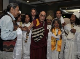 Dalai-Lama-Hopi-Colobian-Mamos