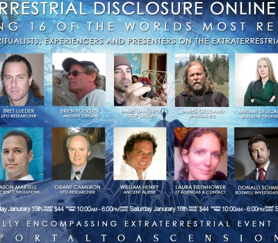 Extraterrestrial Disclosure Online Summit: Jan 15-17