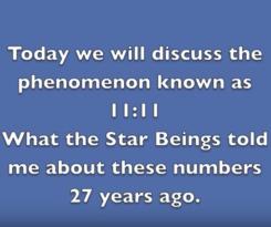 Miriam Delicado, Extraterrestrial Contactee 11:11 Phenomenon