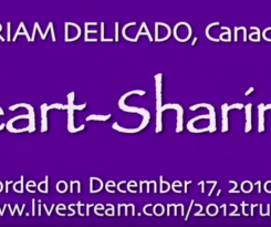 Heart-Sharing and 2012 Ustream Interview